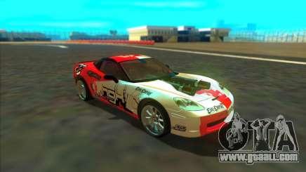 Chevrolet Corvette ZR1 for GTA San Andreas