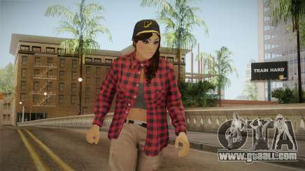 GTA 5 Vagos Chola Reskinned for GTA San Andreas
