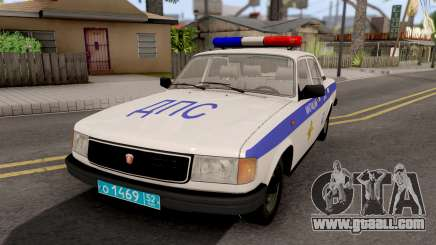 GAZ-31029 DPS Police for GTA San Andreas