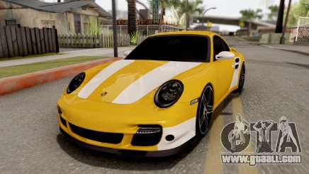 Porsche 911 Turbo 2007 for GTA San Andreas