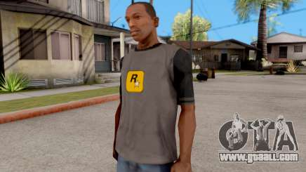 Rockstar T-Shirt for GTA San Andreas