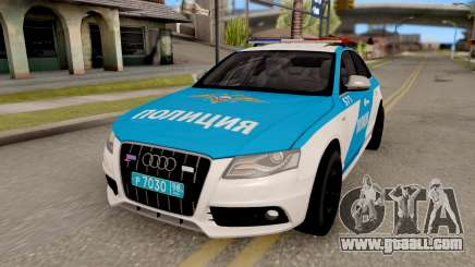 Audi S4 Russian Police for GTA San Andreas