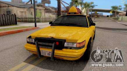 GTA IV Taxi for GTA San Andreas