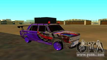 VAZ 2103 MegaSound for GTA San Andreas