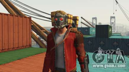 GOTG Star-lord for GTA 5