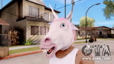 Mask Unicorn for GTA San Andreas