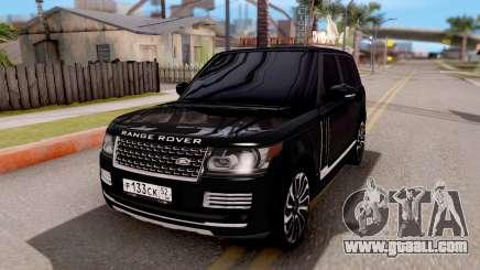 Range Rover SVA for GTA San Andreas