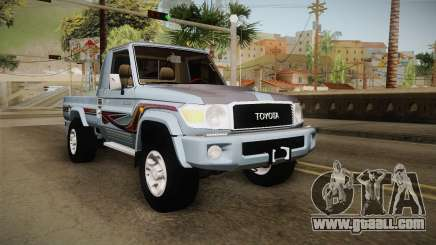 Toyota Land Cruiser (J79) 2016 for GTA San Andreas