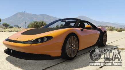 Pininfarina Ferrari Sergio for GTA 5