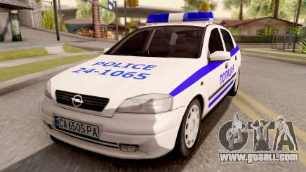 Opel Astra G Bulgarian Police for GTA San Andreas