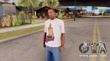 New T-Shirt for GTA San Andreas