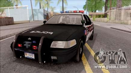 Ford Crown Vitoria High Speed Police for GTA San Andreas