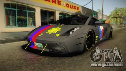 Lamborghini Gallardo Philippines for GTA San Andreas