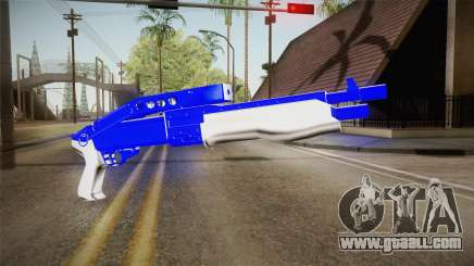 Blue Weapon 3 for GTA San Andreas