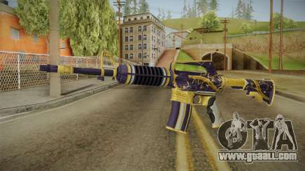CS:GO - M4A1-S Gold Coil No Silencer for GTA San Andreas