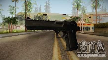 Desert Eagle Black for GTA San Andreas