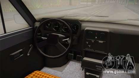 Skoda 120L for GTA San Andreas inner view