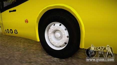 Niccolo 2250 El Rapido for GTA San Andreas back view