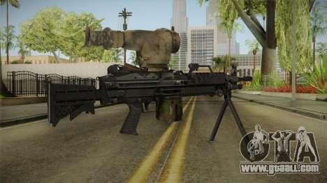 M249 Light Machine Gun v2 for GTA San Andreas third screenshot