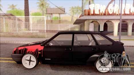 Lada 2109 for GTA San Andreas left view