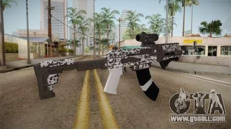 Gunrunning Assault Rifle v2 for GTA San Andreas second screenshot