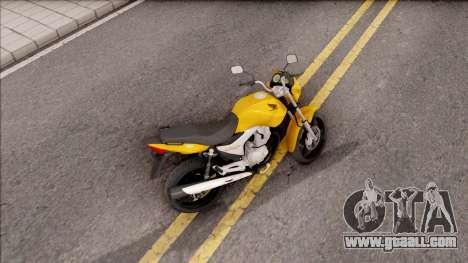 Honda Titan 150 Mix for GTA San Andreas back left view