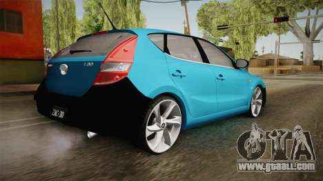 Hyundai i30 Double Color for GTA San Andreas left view