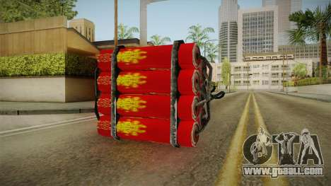 Dynamite With Clock China Wind for GTA San Andreas second screenshot