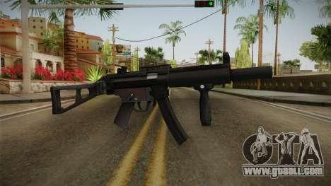 HK MP5 Silenced for GTA San Andreas