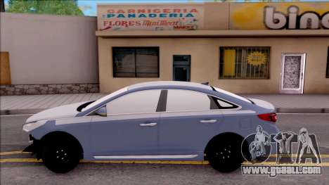Hyundai Sonata 2016 for GTA San Andreas left view