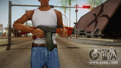 CF AK-47 for GTA San Andreas third screenshot