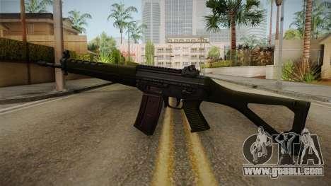 SIG SG-550 Assault Rifle for GTA San Andreas second screenshot