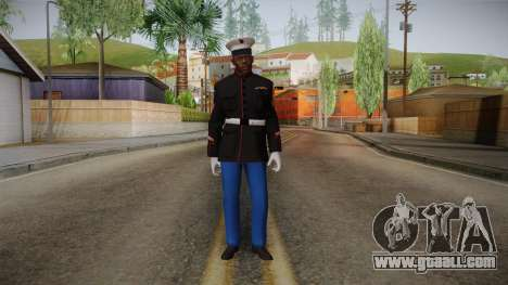 CoD: AW - Marine Dress Uniform Cormack for GTA San Andreas second screenshot