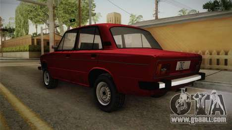 VAZ 2106 SA Style v2 for GTA San Andreas back left view