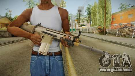 Battlefield 4 FN SCAR-H for GTA San Andreas third screenshot