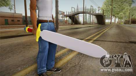 Z Sword From DBZ for GTA San Andreas