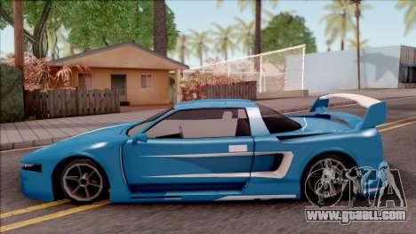 BlueRay's Infernus V9+V10 for GTA San Andreas left view