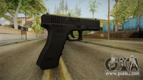 Glock 17 3 Dot Sight Yellow for GTA San Andreas second screenshot