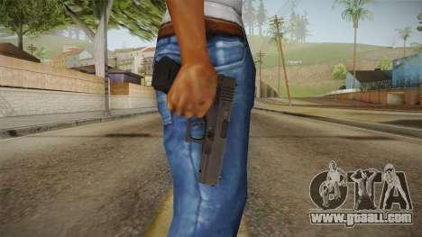 Glock 18 3 Dot Sight Cyan for GTA San Andreas third screenshot