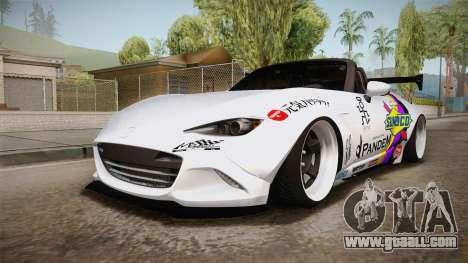 Mazda MX-5 ND Pandem 2016 for GTA San Andreas