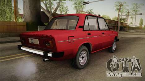 VAZ 2106 SA Style v2 for GTA San Andreas left view