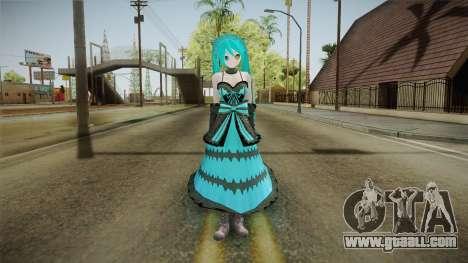 Xsetus Miku Skin v1 for GTA San Andreas second screenshot