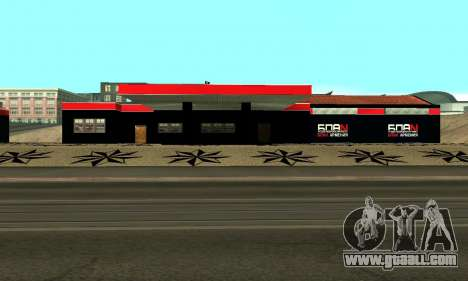 BPAN Armenia garage in SF for GTA San Andreas eleventh screenshot