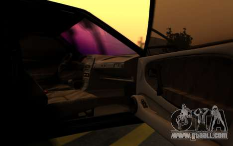 Lada 2114 Samara for GTA San Andreas bottom view