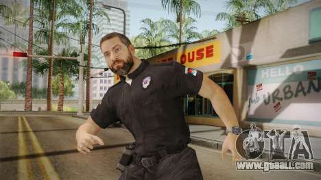 Serbian Border Police Skin for GTA San Andreas