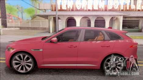 Jaguar F-Pace S for GTA San Andreas left view