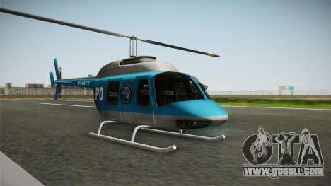 Serbian Police Helicopter for GTA San Andreas