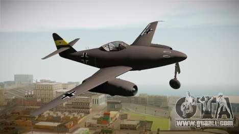 Messerschmitt Me-262 Schwalbe for GTA San Andreas