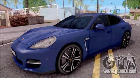Porsche Panamera Turbo 2009 for GTA San Andreas
