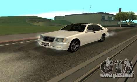 Mercedes-Benz S600 Armenian for GTA San Andreas